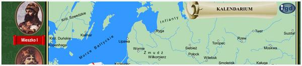 Mapa Polski poprzez wieki