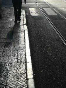 Spacer po Alfamie w początkach pandemii, Lizbona 2020/ andar em torno de Alfama no início da pandemia, Lisboa 2020