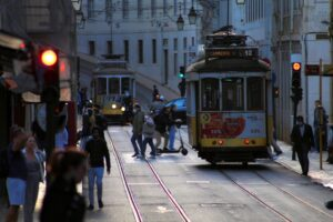 Zapada wieczór, Lizbona 2020/ a noite cai, Lisboa 2020