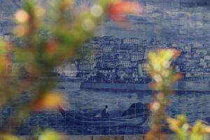 Tradycyjne azulejos na Miradouro de Santa Luzia, Lizbona 2018/ azulejos tradicionais no Miradouro Santa Luzia, Lisboa 2018