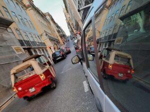 Uliczki Alfamy, Lizbona 2020/ Ruas pequenas da Alfama, Lisboa 2020