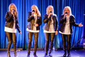 Zespół OPTY_MALNI. Cztery wokalistki na scenie